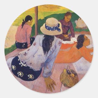 'The Siesta' - Paul Gauguin Stickers
