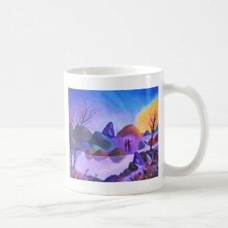The Sighting - Alien Lights Coffee Mug