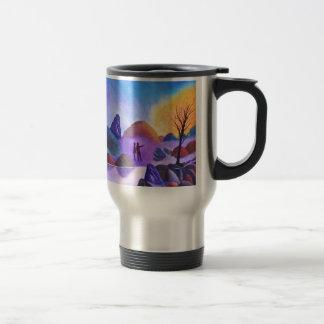 The Sighting - Alien Lights Travel Mug