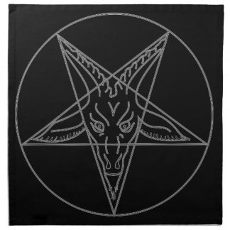 The Sigil of Baphomet Napkin