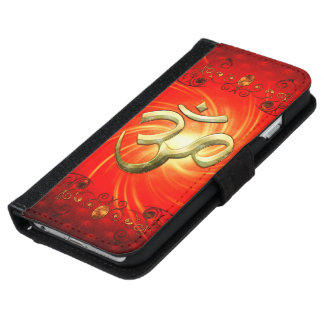 The sign om in gold wallet phone case for iPhone 6/6s