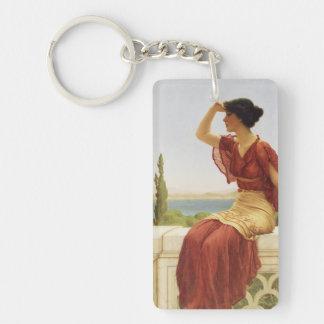 The Signal Godward Fine Art Painting Keychain