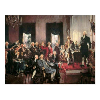 The Signing of the Constitution Postcards
