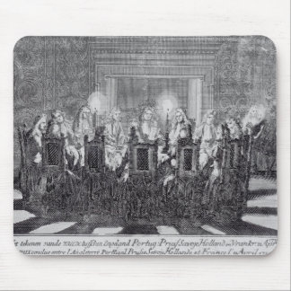 The Signing of the Treaty of Utrecht Mouse Pad