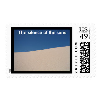 The silence of the sand stamps