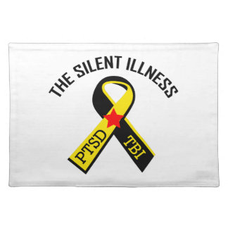 THE SILENT ILLNESS CLOTH PLACEMAT