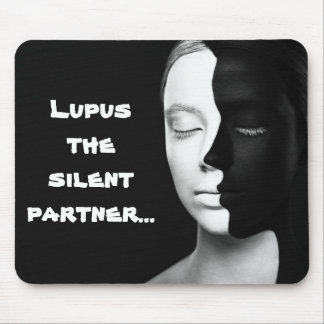 The silent partner mouse pad