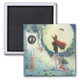 The Silent Protector 2 Inch Square Magnet