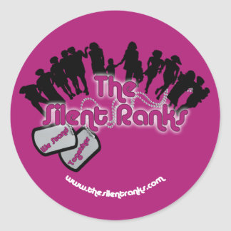 The Silent Ranks Classic Round Sticker
