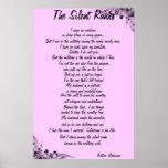 """The Silent Ranks"" poem Print"
