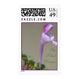 The Silent Sermon Postage Stamp