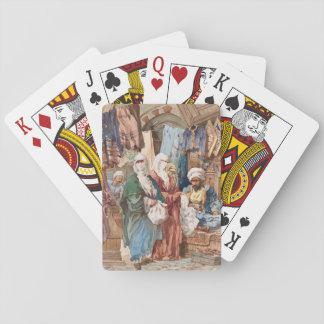 """The Silk Bazaar"" art playing cards"