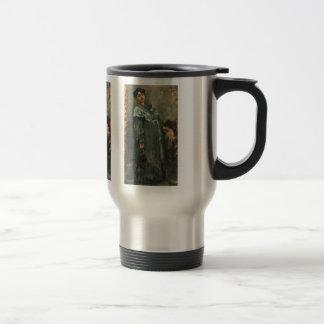 The silk coat by Lovis Corinth Travel Mug