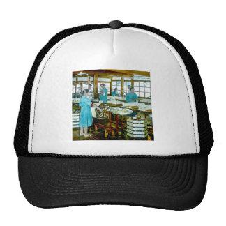 The Silk Twisters of Old Japan Silk Factory Trucker Hat