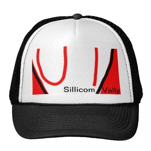 The Sillicom Vally Logo Cap Trucker Hat