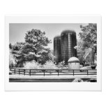 The Silos of Crabapple Photographic Print