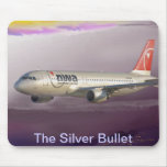The Silver Bullet Holding at Days End Mouse Pad