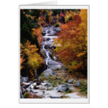 The Silver Cascade Greeting Card