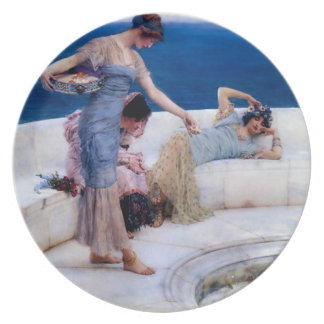 The Silver Favourites by Jean Leon Gerome Dinner Plate