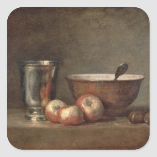 The Silver Goblet, c.1768 Square Sticker