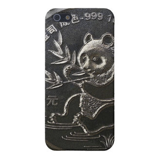 The Silver Panda iPhone case. Cover For iPhone SE/5/5s