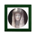 The Silver Tiara- Silver Crown - by Odilon Redon Jewelry Boxes