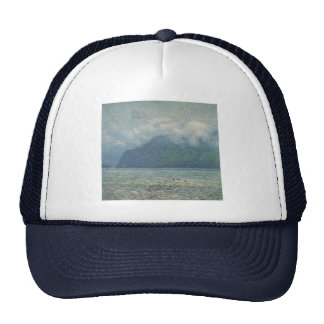 The Silver Veil and the Golden Gate Trucker Hat