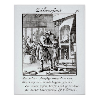 The Silversmith, 1718 Poster