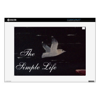 """""""The Simple Life"""" Laptop Skin"""