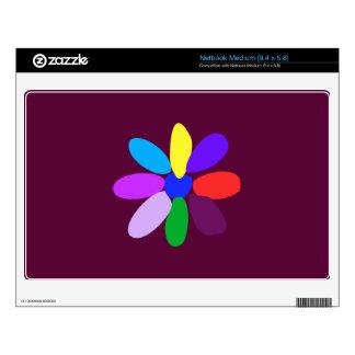 The Simplest Flower Skin For Netbook