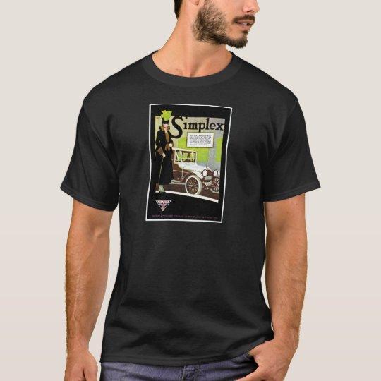 The Simplex - Vintage Automobile Advertisement T-Shirt