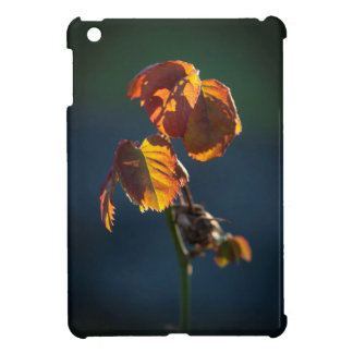 The simplicity of the leaves iPad mini case