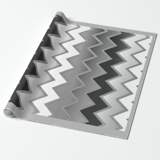 The Simply ZigZag -Monochrome Wrapping Paper