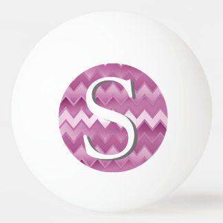 The Simply ZigZag - Pink Ping Pong Ball