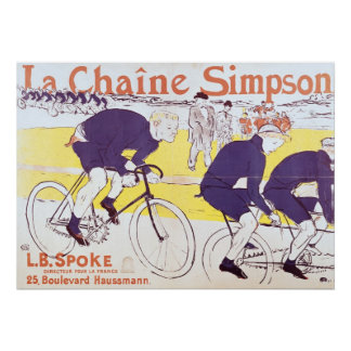 The Simpson Chain, 1896 Poster