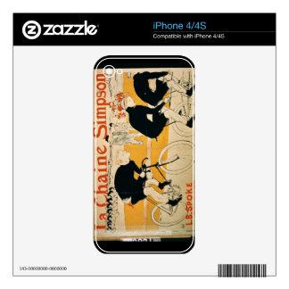 'The Simpson Chain', Paris (colour litho) iPhone 4 Decal