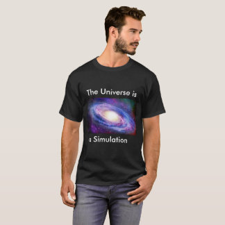 The Simulation Hypothesis T-Shirt
