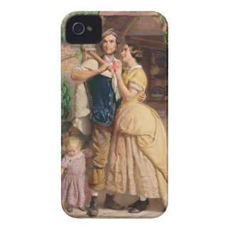 The Sinews of Old England, 1857 (w/c & bodycolour iPhone 4 Case-Mate Case