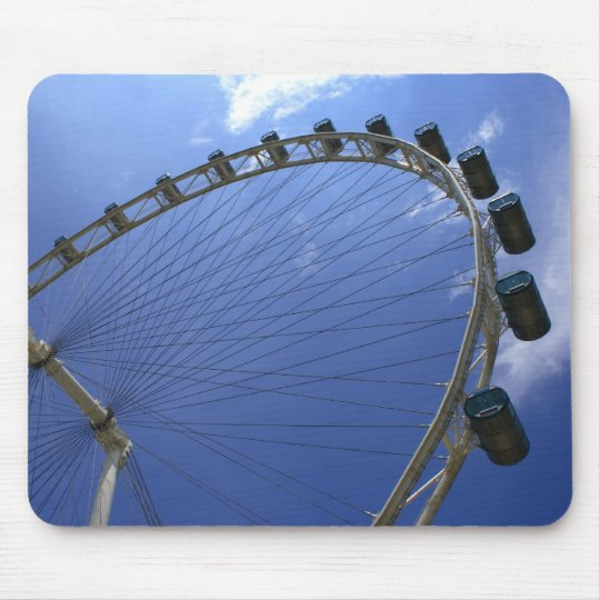 The Singapore Flyer Mouse Pad