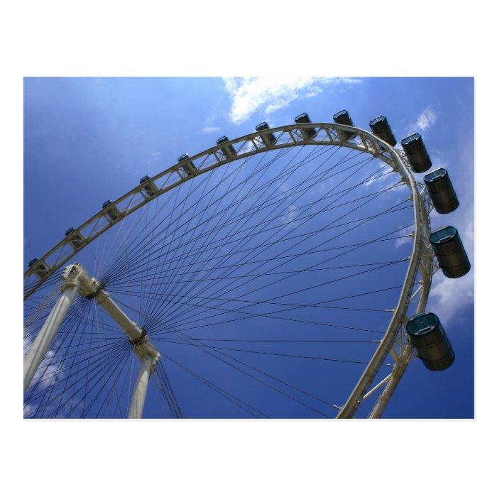The Singapore Flyer Postcard
