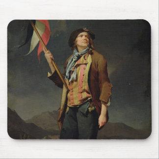 The Singer Chenard, as a Sans-Culotte, 1792 Mouse Pad