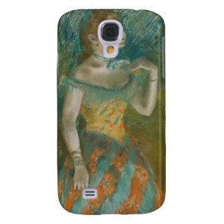The Singer in Green - Edgar Degas Samsung Galaxy S4 Covers