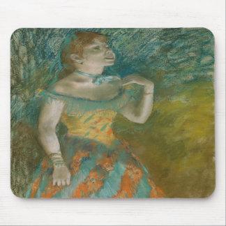 The Singer in Green - Edgar Degas Mouse Pad