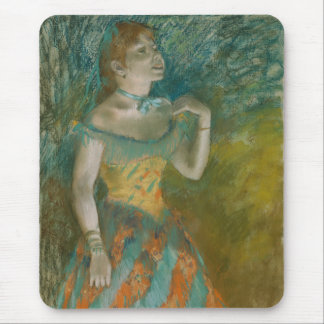 The Singer in Green - Edgar Degas Mouse Pad
