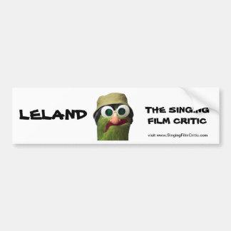 The Singing Film Critic Bumper Sticker