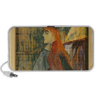 The Singing Lesson 1882 iPod Speaker