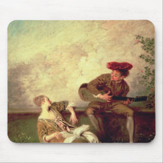 The Singing Lesson Mouse Pads