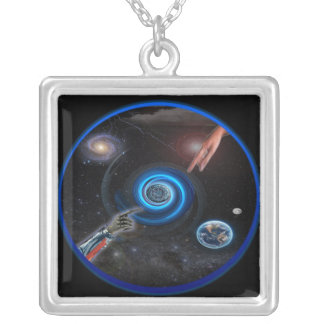 The Singularity products Square Pendant Necklace
