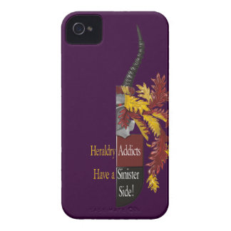 The Sinister Side of Heraldry iPhone 4 Case-Mate Cases