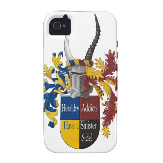 The Sinister Side of Heraldry iPhone 4 Covers